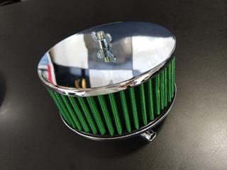 Filtro Ar Esportivo Cromado Carburador Solex Vw Fusca
