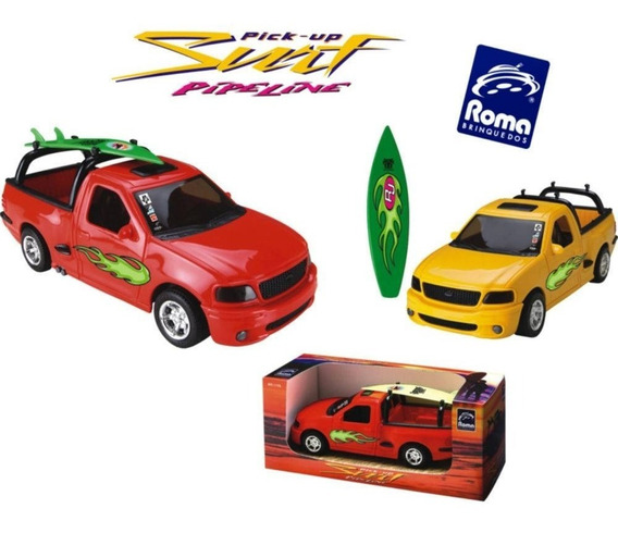 Carrinho Infantil Pick-up Ford F-150 Surf -roma Brinquedos