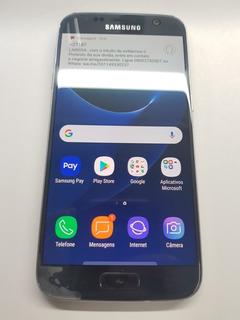 Samsung S7 G930 Preto Usado Com Detalhes* Ver Anuncio
