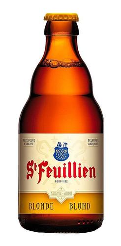 Imagem 1 de 3 de Cerveja St Feuillien Blonde Belga 330 Ml
