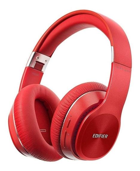 Fone de ouvido sem fio Edifier W820BT vermelho
