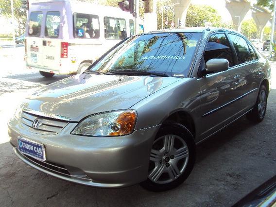 Honda Civic 1.7 Lx Aut. 2001 Completo