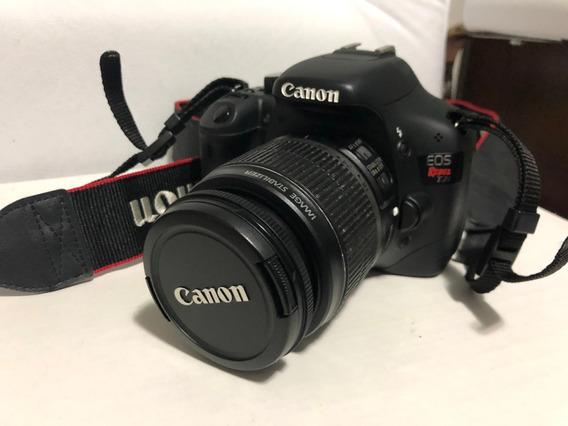 Câmera Fotográfica Canon T2i Eos