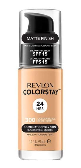 Base Longa Duração Revlon Colortsay 300 Golden Beige