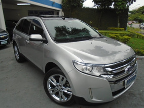 Ford Edge 3.5 Limited Awd 2011 Prata Com Teto Solar