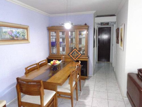 Apartamento Com 3 Dormitórios À Venda, 78 M² Por R$ 350.000,00 - Jabaquara - São Paulo/sp - Ap36717