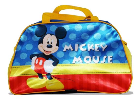 Bolsa Infantil Para Viagem Mickey Mouse