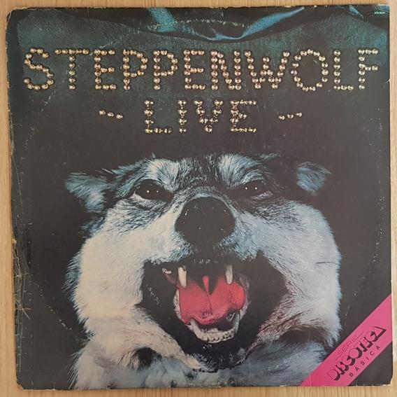 Lp Vinil Duplo Usado Steppenwolf Live 1980