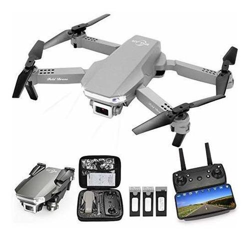 Mslan M100 Rc Drone Niños Con 1080p Vídeo En Vídeo En Vídeo