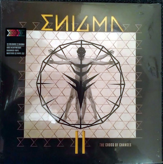 Enigma-the Cross Of Changes - 1lp -amarillo - 2018 -180gms