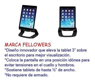 Porta Tableta Excelente Calidad Fellowes Incluye Envio