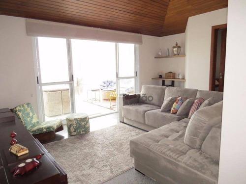 Imagem 1 de 17 de Cobertura Com 2 Dormitórios À Venda, 144 M² Por R$ 720.800,00 - Jardim Bela Vista - Santo André/sp - Co0100