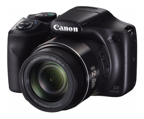 Canon PowerShot SX540 HS compacta avançada cor preto