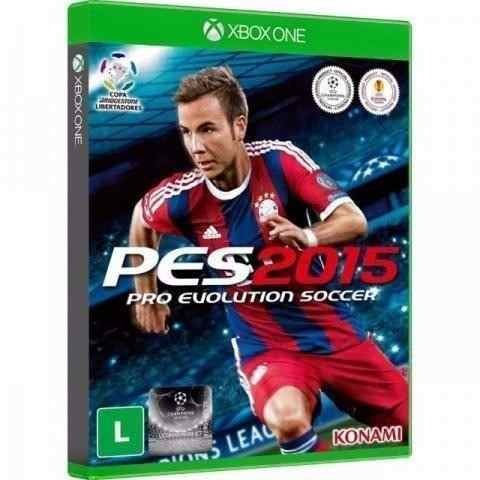 Jogo Pes 2015 Pro Evolution Socce - Xbox One - Midia Fisica