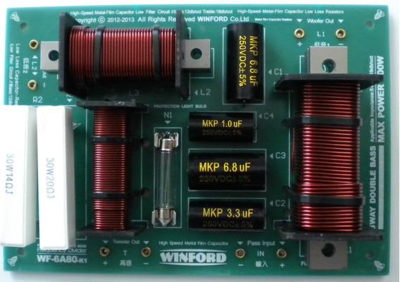 Divisor De Frequências Duas Vias 450 Watts Freq. 600-3600hz@