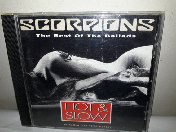 Cd Scorpions The Best Of The Ballads 1991 Importado