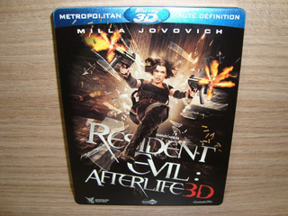 Blu-ray Resident Evil: Afterlife 3d / Steelbook (importado)