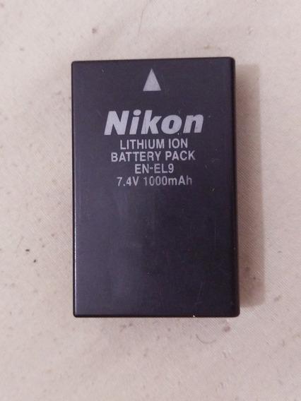 Bateria Original Nikon En-el9 7.4v 1000mah