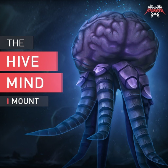 Wow Rush Mount Montaria A Mente Coletiva (hivemind)