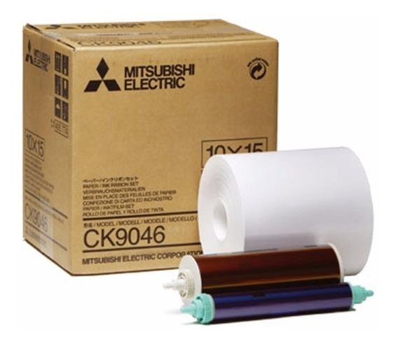 Papel Mitsubishi 9046 - 600 Fotos 10 X 15