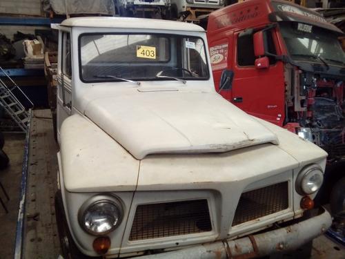 Sucata Ford Jeep 1962