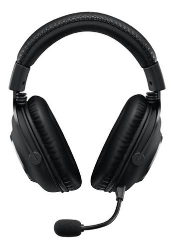 Auriculares gamer Logitech Pro X negro