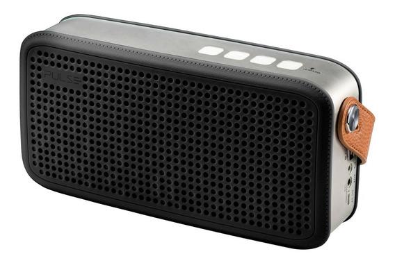 Caixa De Som Pulse Hands Bluetooth Usb Sd Free Aux Preta 20w