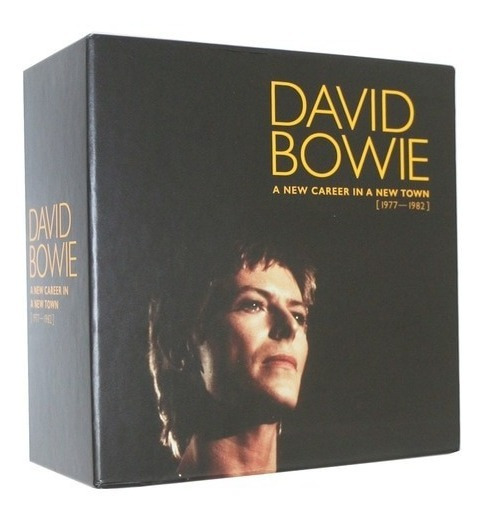 Box David Bowie A New Career In A New Town 1977-1982 11 Cds