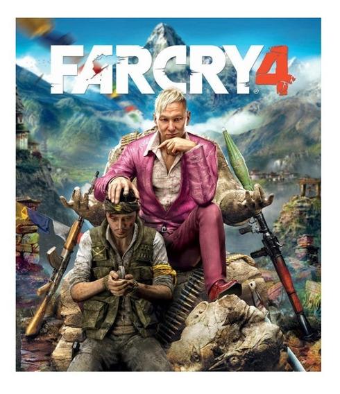 Far Cry 4 + 1 Jogo-pc-dvd- (midia Fisica)