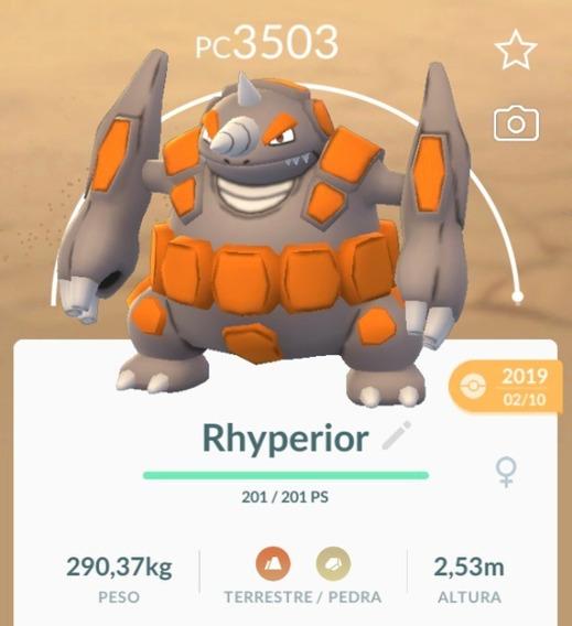 Rhyperior Pogo