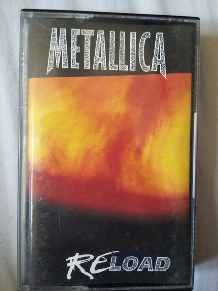 Cassette Metallica - Reload