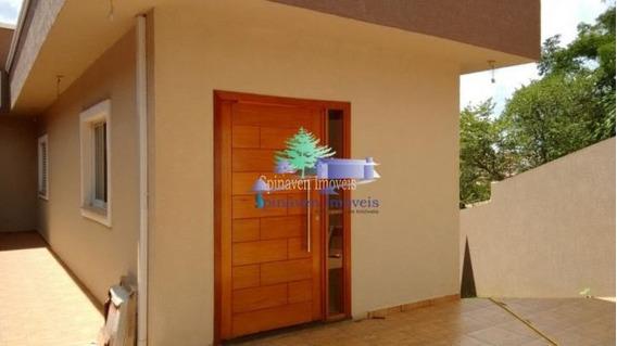 Casa Em Atibaia - Jardim Maristela. Excelente Localização. - Ca01404