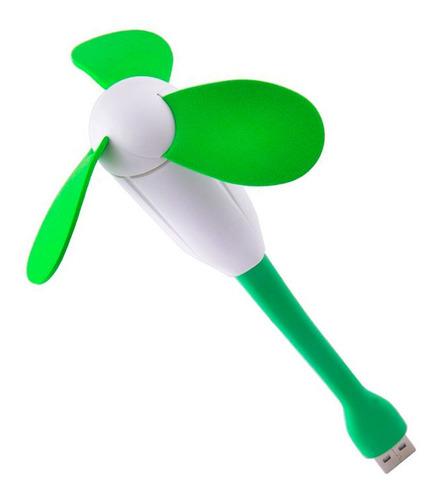 Ventilador Usb Portatil Personal Flexible Pc Mini Ventilador