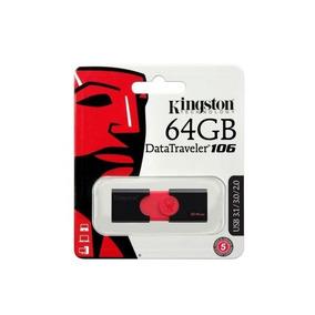 Pen Drive 64gb Kingston Dt106 3.0-2.0 Original Lacrado