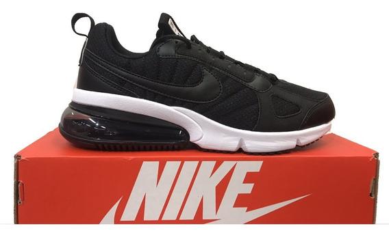Tênis Nike Air Max 270 Futura Preto E Branco Original
