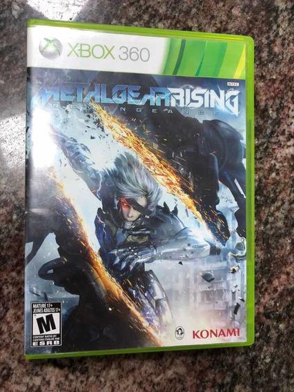 Metal Gear Rising Xbox 360 Seminovo Mídia Fisica