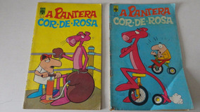 Pantera Cor De Rosa Nºs 16 E 21