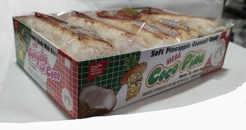 Imagen 1 de 3 de Megacoco Y Guayaba Horneada, Caja Con 10 Cocadas
