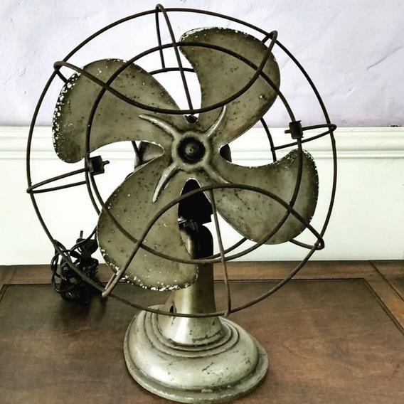 Ventilador De Mesa Vintage Siam Funcionando