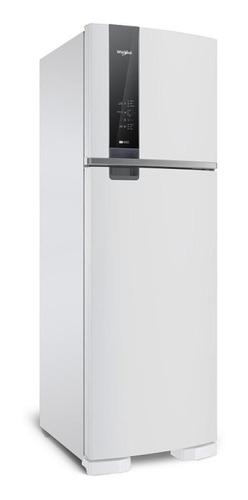 Heladera no frost Whirlpool WRM54A blanca con freezer 400L 198V - 242V