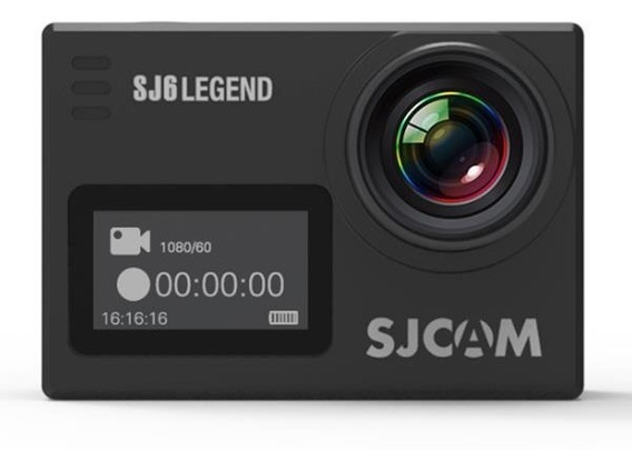 Sjcam Sj6 Legend Original 4k Camera Filmadora 2 Telas Wifi 16mp 166º Original Prova D