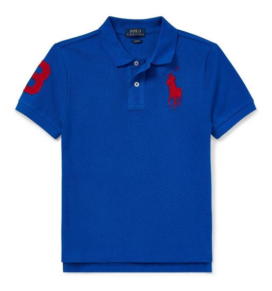 Polo Ralph Lauren Camis Tipo Polo 100% Orig Tall Niños Joven