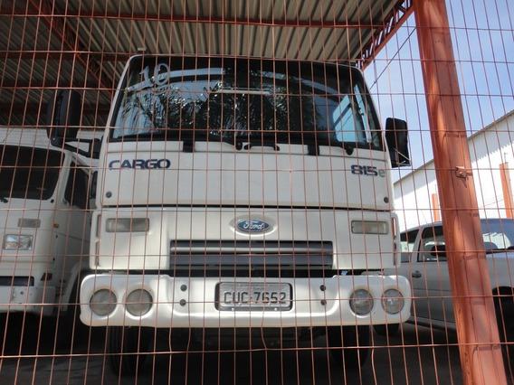 Ford Cargo 815 2010 Baú C/ Plataforma