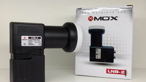 * Lnb Duplo 2 Saidas Mox 0.1db Ganho 60db Original Na Caixa