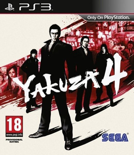 Yakuza 4 ~ Ps3 Digital