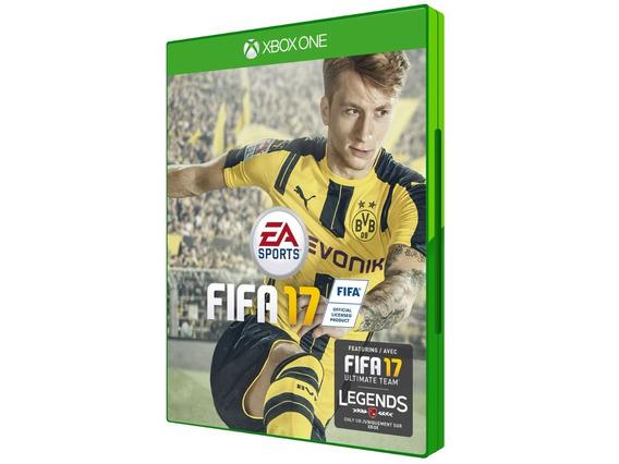 Fifa 17 - Xbox One - Midia Fisica