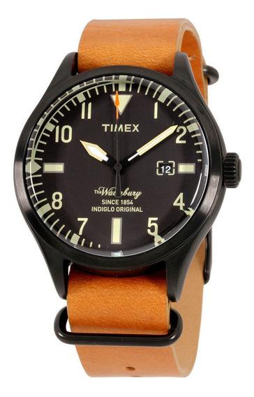 Relógio Masculino Timex Tw2p64700 Pulseira De Couro