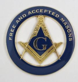 Adesivo Maçonaria Emblema Maçonaria Emblema Maçom Para Carro