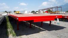 Remolques Plana Plataforma Flat 40 Pies 2 Y 3 Ejes