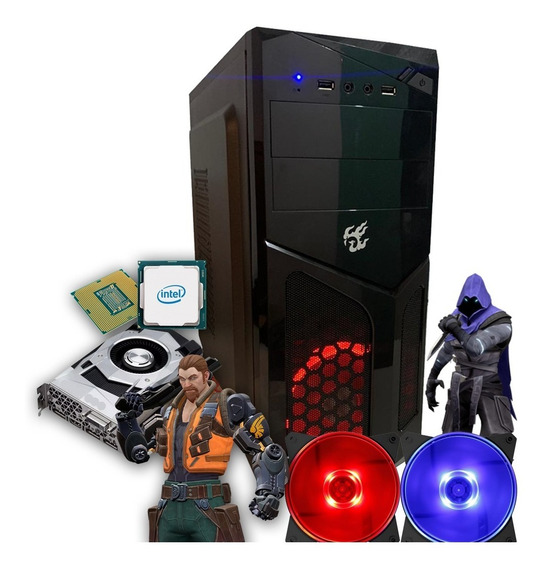 Pc Gamer Core I3 + Rx 550 2gb + 4gb Memória + Hd 500gb